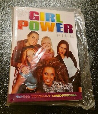 Spice Girls Girl Power File 100% Unofficial Funfax Unopened • 6.99£
