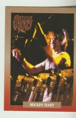 Grateful Dead Brockum Rock Legacy Card #5 Mickey Hart • 2.04£