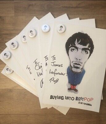 Buying Into Britpop  Book By Rob Fiddaman . Can Be Signed And Dedicated . • 12£