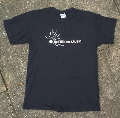SOLAR ONE MUSIC / THE EXALTICS - Official T-Shirt BLACK MEDIUM  • 6.95£