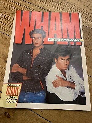 WHAM In The Own Words Magazine 1984 • 2.99£