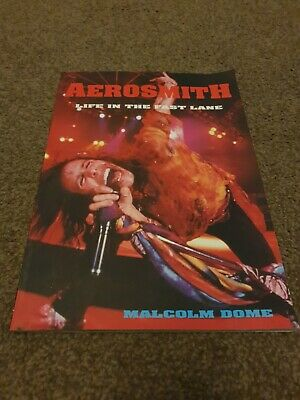 Aerosmith - Life In The Fast Lane - Malcolm Dome • 4.99£