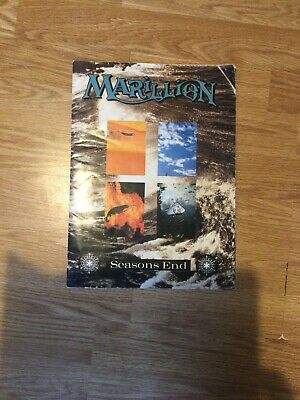 Marillion Seasons End Tour Programme • 5.90£