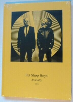 Pet Shop Boys Annually 2018 New & Sealed Chris Lowe Neil Tennant Gift Idea • 34.99£