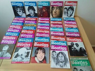 BEATLES BOOK MONTHLY - Complete Set Years 1963 - 1969 Originals 77 Issues +1 • 499£