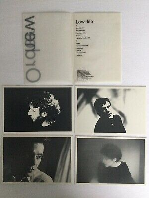 NEW ORDER 4 Postcards From Low Life Cassette Box • 2.99£
