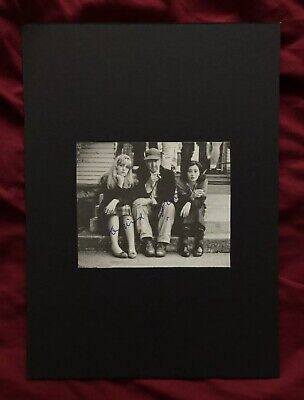 David Lynch Signed Clipping Mounted On Black Board  • 25£