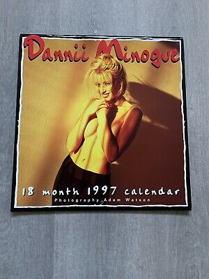 Dannii Minogue Rare 1997 Calendar Topless/Naked Like New Condition • 26.99£