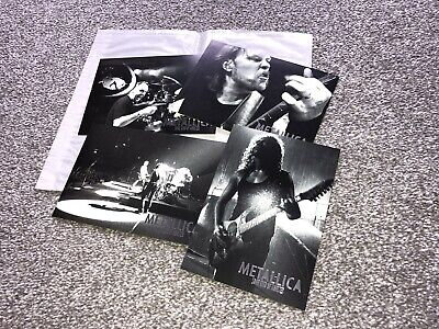 Metallica 'Some Kind Of Monster' Official Cards, 2004 - Brand New, FREE Postage! • 24£