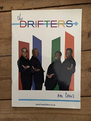 Drifters Programme 2008 Autographed • 0.99£