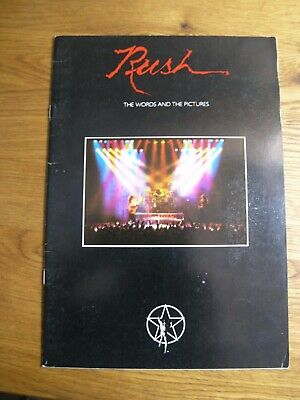 Rush Vintage 1979 Original Words And Pictures Programme Tourbook RARE • 59£