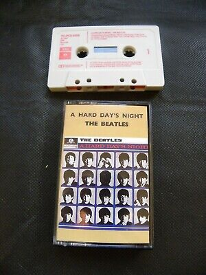 The Beatles - A Hard Day's Night - Cassette TC-PCS 3058 (IE 262 O 04145) (837) • 14£