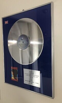 Primal Scream Record Award For Loaded  Owned By Alan McGee Creation Oasis • 200£