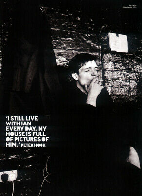 Joy Division Poster Page . Ian Curtis . 256mm • 9.99£