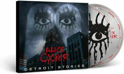 ALICE COOPER DETROIT STORIES [CD + DVD] (Released 26/02/2021) • 15.48£