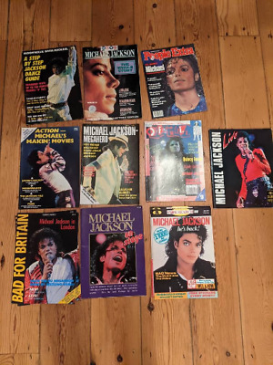 Michael Jackson Magazines Rare Collectible Memorabilia • 15£