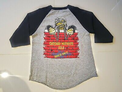 IRON MAIDEN Vintage Tour T Shirt Chicago Mutants Rule SEE LISTINGS  • 44.99£
