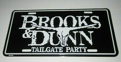 Brooks & Dunn Metal Embossed License Plate (New) • 7.08£