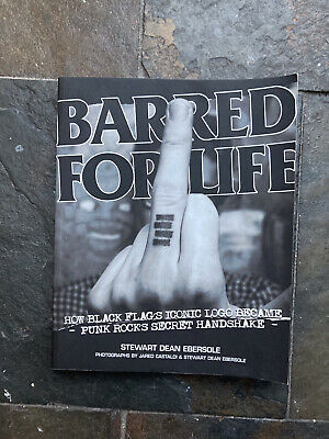 Black Flag Barred For Life Book • 5£