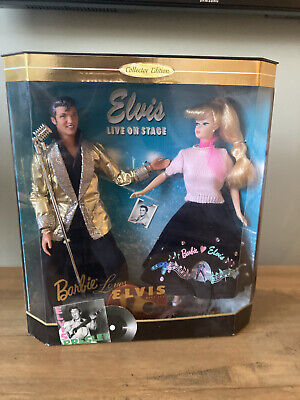 Barbie And Elvis Dolls - Collectors Edition • 28.55£