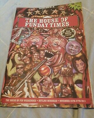 Madness House Of FunDay Times. Butlins Programme 2011 Paul Heaton Jerry Dammers. • 8.50£