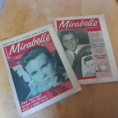 Billy Fury. (Lot Of X2) Mirabelle Magazines From 1963. Fully Complete • 11.49£
