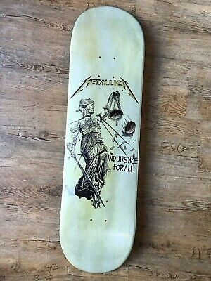 METALLICA - ...And Justice For All Skate Deck Lovenskate  • 138£