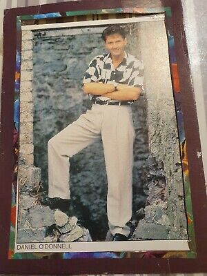Genuine Daniel O'donnell Hand Written And Hand Signed Colour Postcard. Used • 9.99£