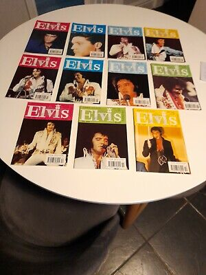 Elvis Monthly 1997 38th Year 11 Issues January's Missing  • 10£