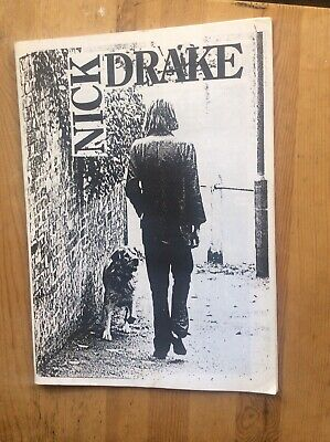Nick Drake Scrapbook Cuttings/Articles From Various Publications.Very Good Cond • 18£