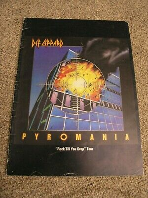 Def Leppard Programme 1983 Tour Book .... Rare Original Concert Program • 85£