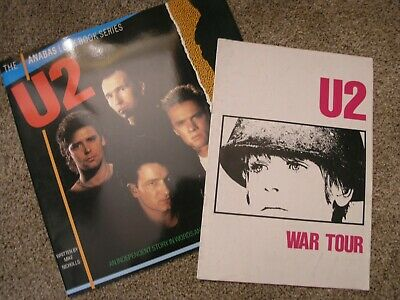 U2 Programme War 1983 Original Program Tour Book Plus Story In Words • 39£