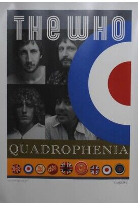 The Who Poster • 4.10£