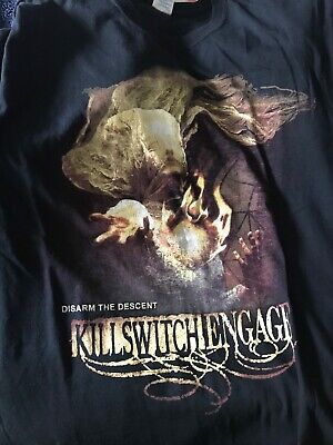Killswitch Engage Tour T-shirt 2013, Brilliant Condition, Large • 3£