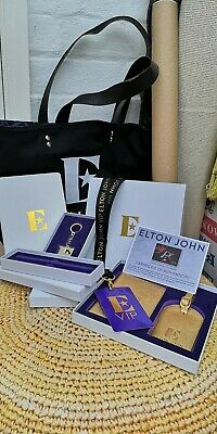 Elton John Farewell VIP Tour Bag With Lithograph Poster & Cert Of Authenticity.  • 30£