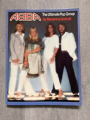 ABBA The Ultimate Pop Group Book By Marianne Lindvall 96 Pages Ex Condition 1977 • 24£