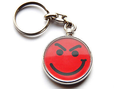 BON JOVI HAVE A NICE DAY Classic Rock Band Chrome Keyring Picture Both Sides • 5.49£