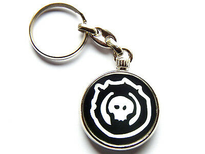 COAL CHAMBER American Nu Metal Band Chrome Keyring Picture Both Sides • 5.49£