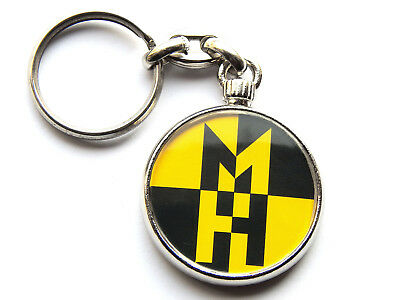 MACHINE HEAD Heavy Metal Band Chrome Keyring Picture Both Sides • 5.49£