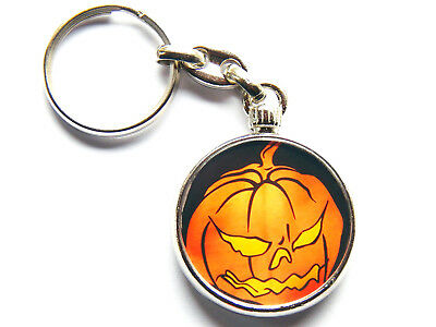 HELLOWEEN Power Metal Band Chrome Keyring Picture Both Sides • 5.49£