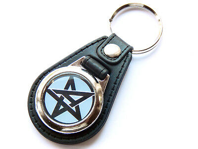 ANTHRAX American Heavy Metal Band Quality Leather And Chrome Keyring • 5.99£