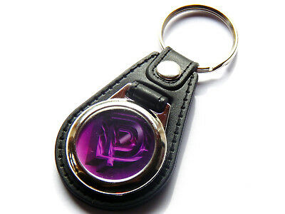 DEEP PURPLE Classic Rock Band Quality Leather And Chrome Keyring • 5.99£