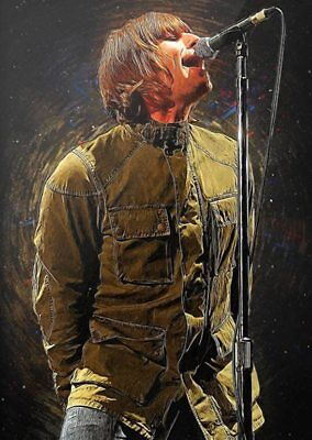 LIAM GALLAGHER  OASIS A4 260gsm Poster Print • 3.80£