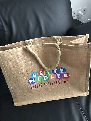 Bette Midler Divine Intervention Tour VIP Bag 2015 • 25£