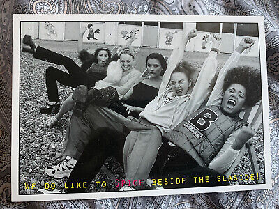 Official Spice Girls Postcard Version 1 • 7.99£