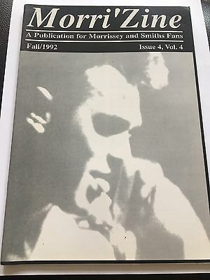 Morrissey - Morrizine Fanzine Fall 1992 Your Arsenal The Smiths • 5£