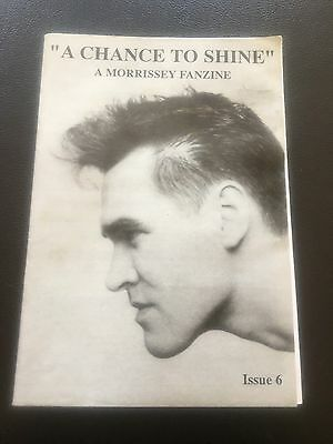 Morrissey - A Chance To Shine No 6 Fanzine 1994  The Smiths • 10£