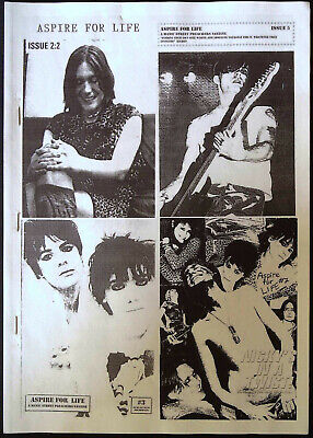 The Best Of MANIC STREET PREACHERS Fanzine ASPIRE FOR LIFE 1997-2000 /JASON HOOD • 44.95£