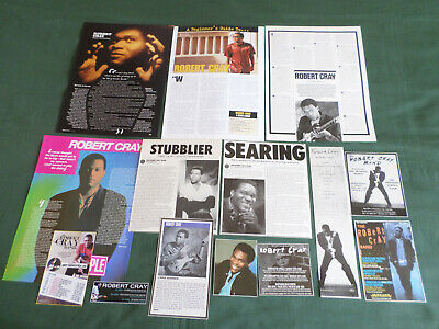 Robert Cray - Blues Music  - Clippings /cuttings Pack • 3.99£