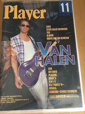 Player Magazine Japan Van Halen • 23.61£